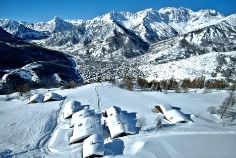 Bardonecchia ski resort, Piedmont, Italy