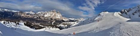Faloria - Cristallo ski resort, Cortina d'Ampezzo, Veneto Dolomites, Italy