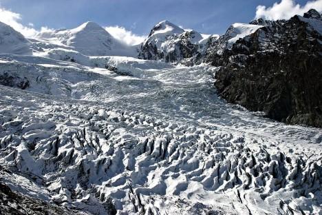 Grenz glacier, Valais, Switzerland