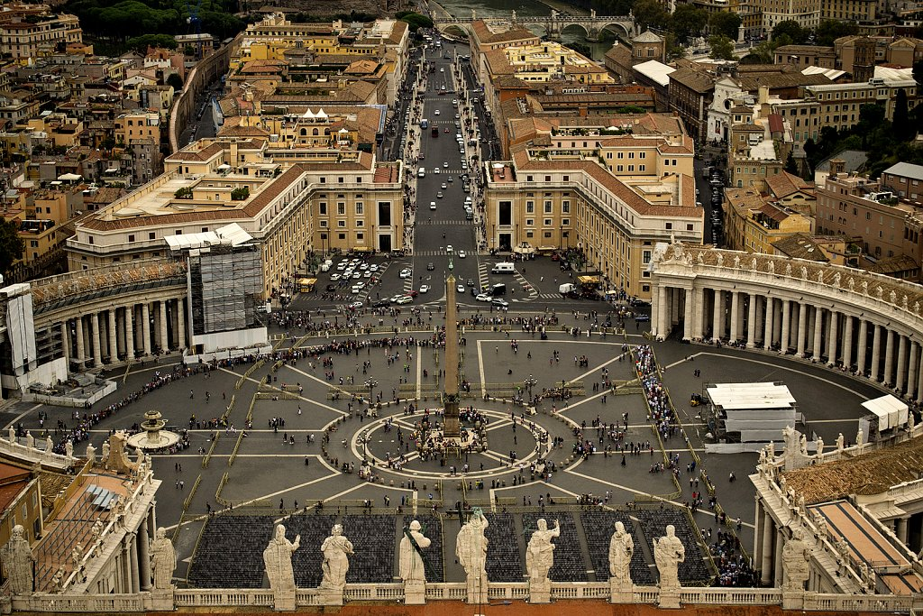 St Peter's Square, Vatican City