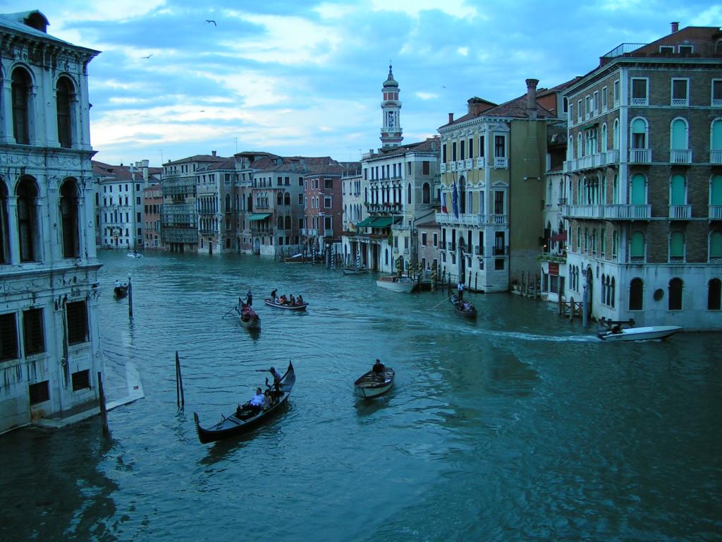 Evening in Venice, Veneto, Italy