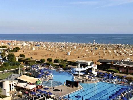Bibione beach, Veneto, Italy