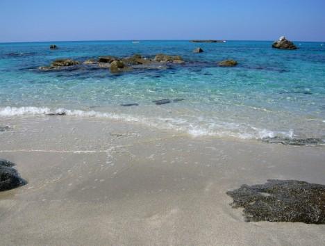 Capo Vaticano sea, Calabria, Italy