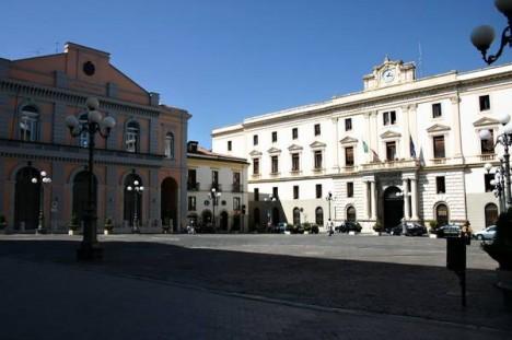 Piazza Mario Pagano, Potenza, Basilicata, Italy