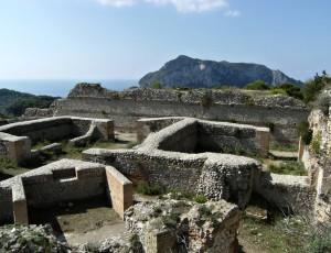 Villa Jovis, Capri island, Campania, Italy