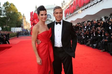 Sandra Bullock & George Clooney - Cinema Festival Venice