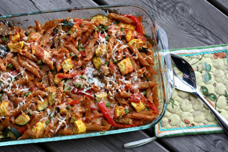 Baked Penne with Roasted Vegetables 2