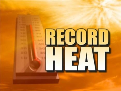 record heat summer 2015 italy