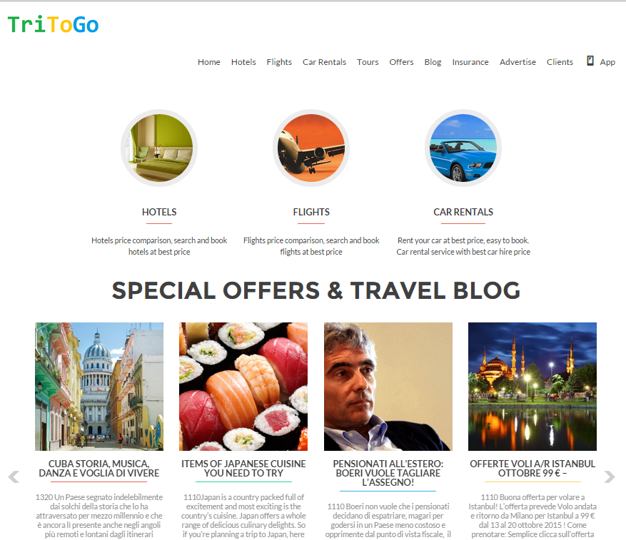 TRITOGO Hotels, Flights, Cars – REVIEW
